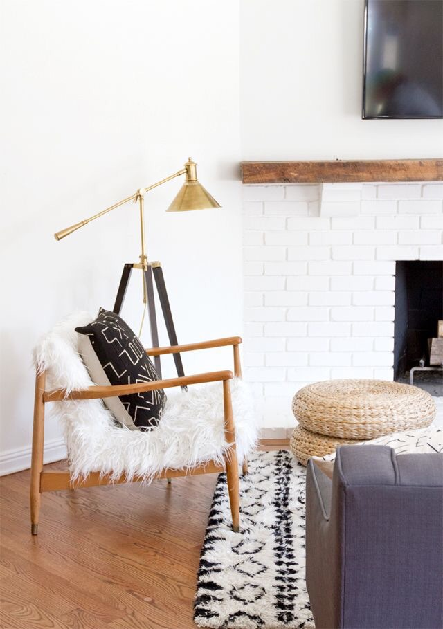 In love with this chair and the rug. Will be searching for a similar look soon!