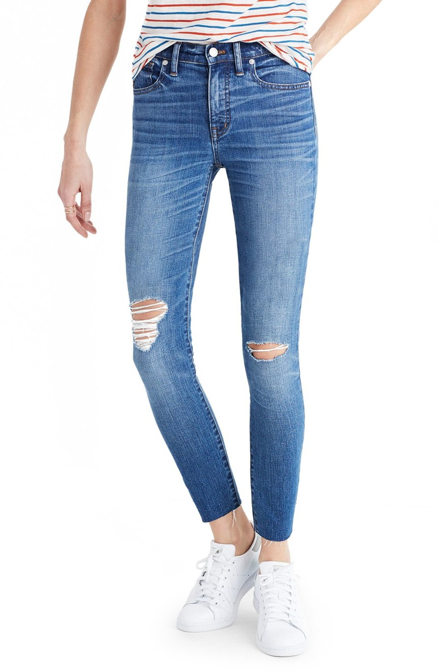 Madewell Crop Jeans