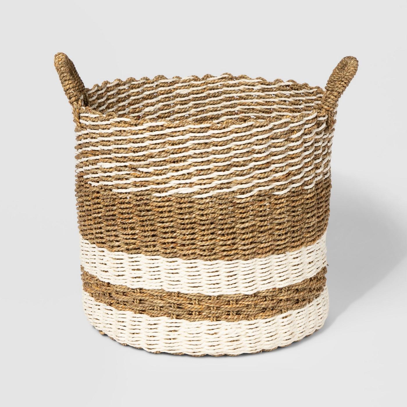 Striped Woven Basket.jpg