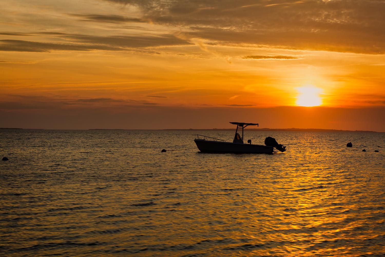Finally Sunset on Nantucket.