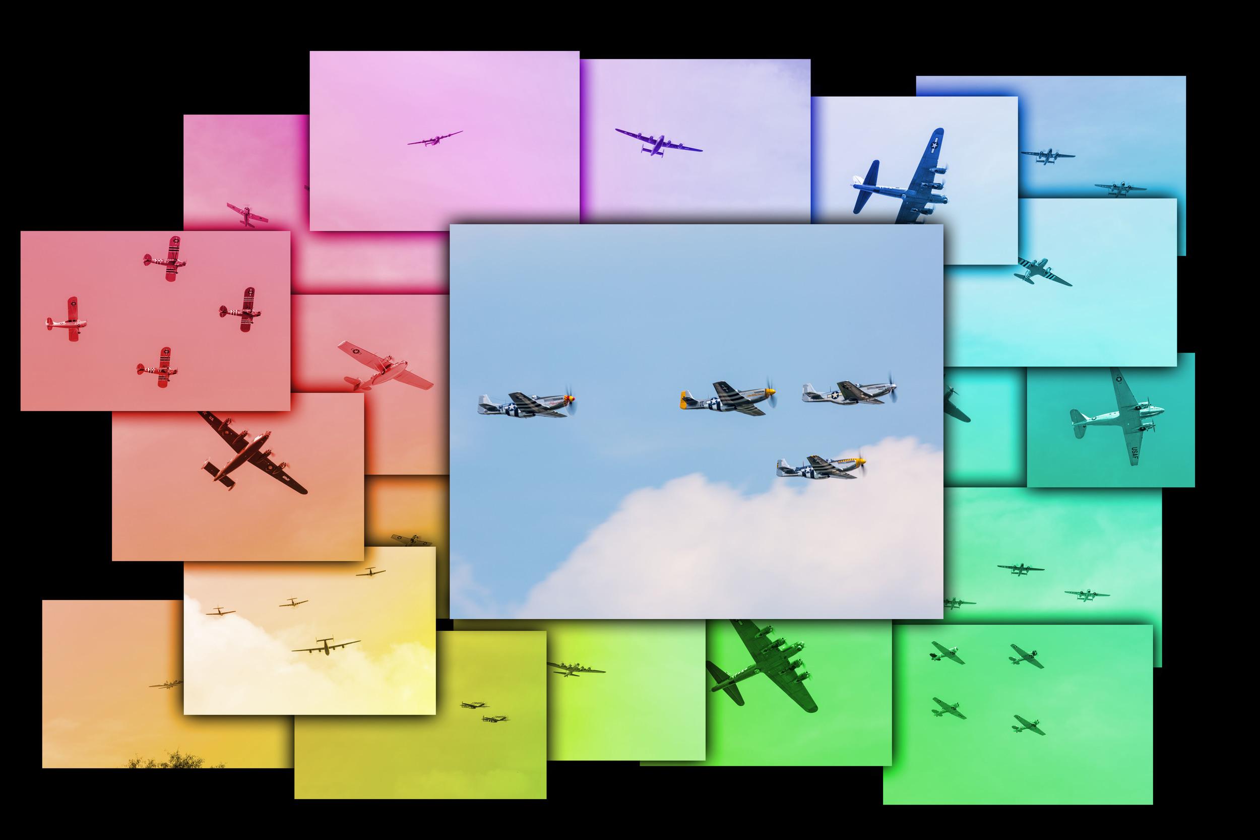 World War 2 flyover