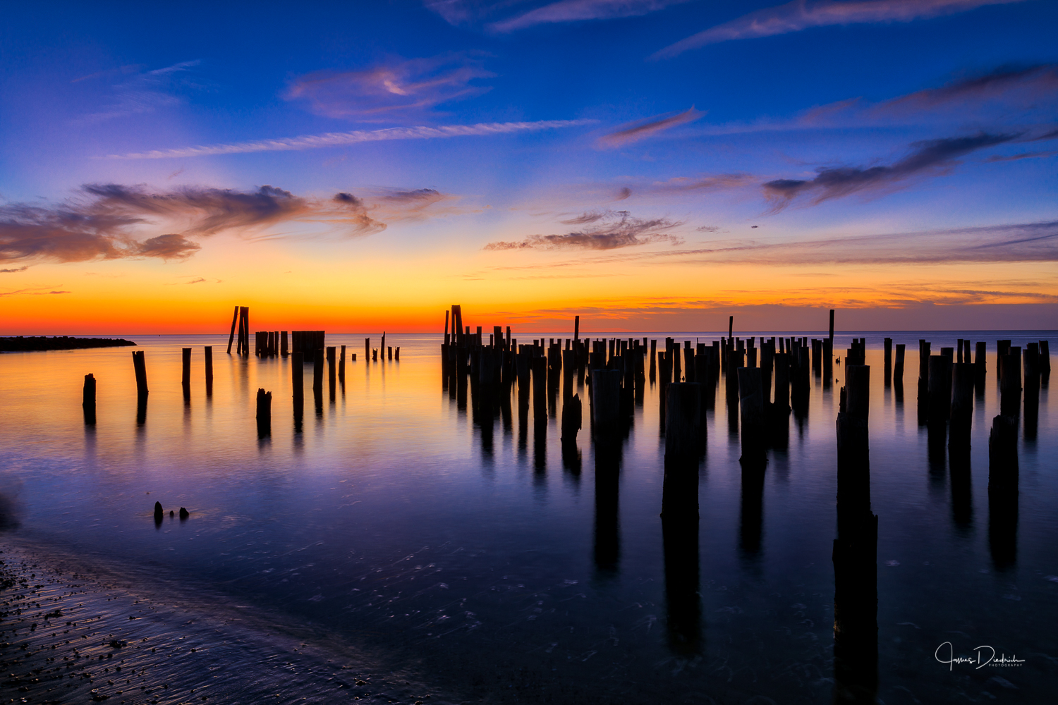 Old Ferry Dock in Cape Charles