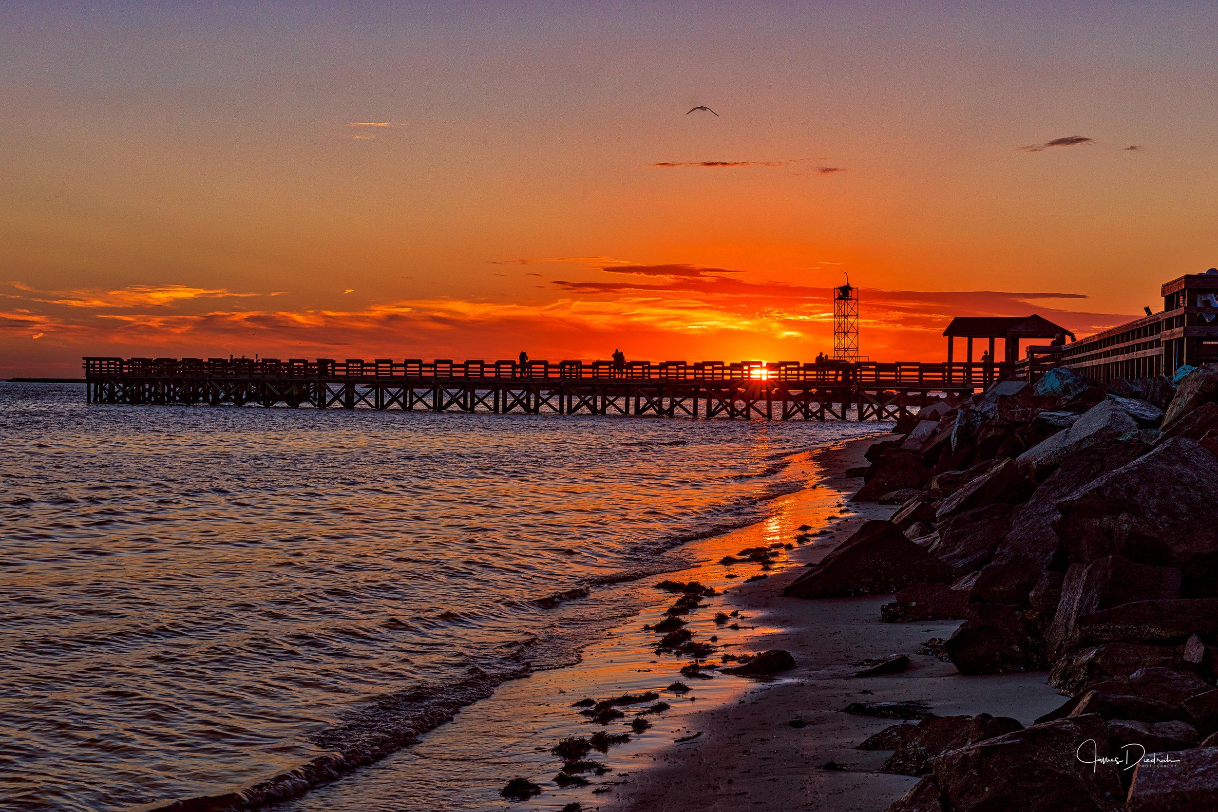 Fishing Pier in Cape Charles, VA