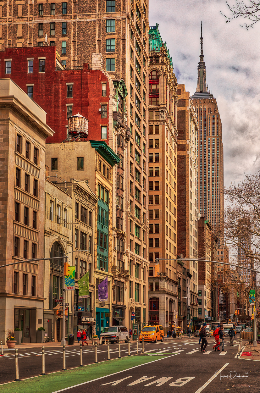 The view from Madison Square Park.