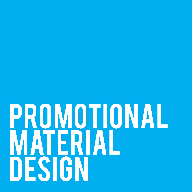 promotional material design portfolio