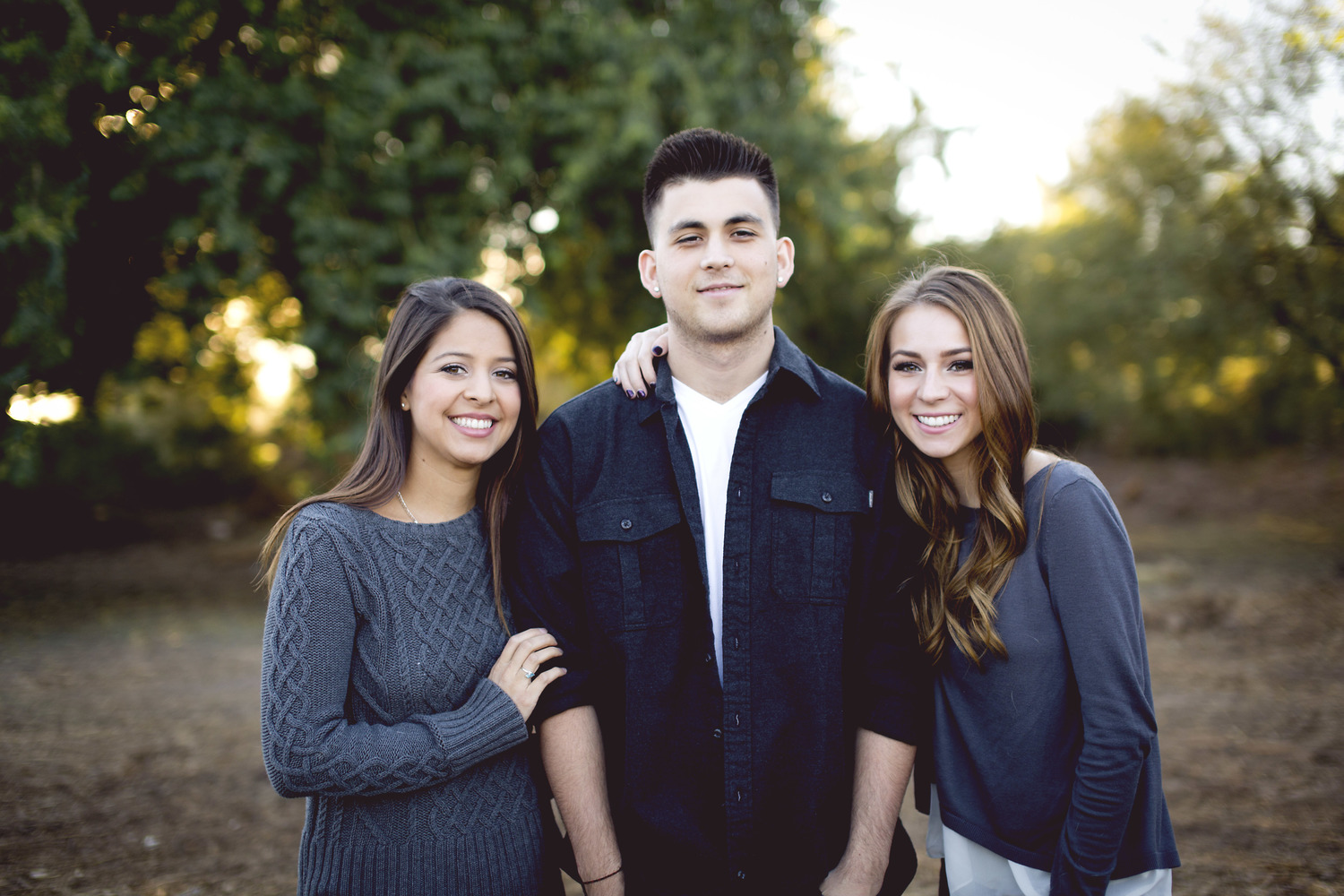 These are our children. Lacey, (left) Colten, (middle) and Alexis (right).