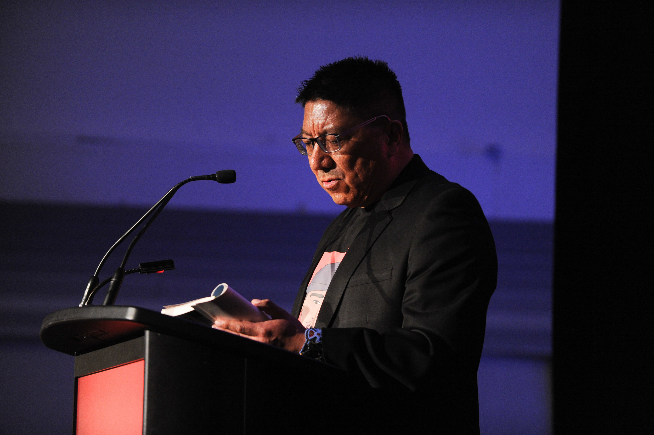 Grand Chief Alvin Fiddler | Nishnawbe Aski Nation - Grand Chief Alvin Fiddler read from Indian Horse by Richard Wagamese, and told the story of his early life in Muskrat Dam.