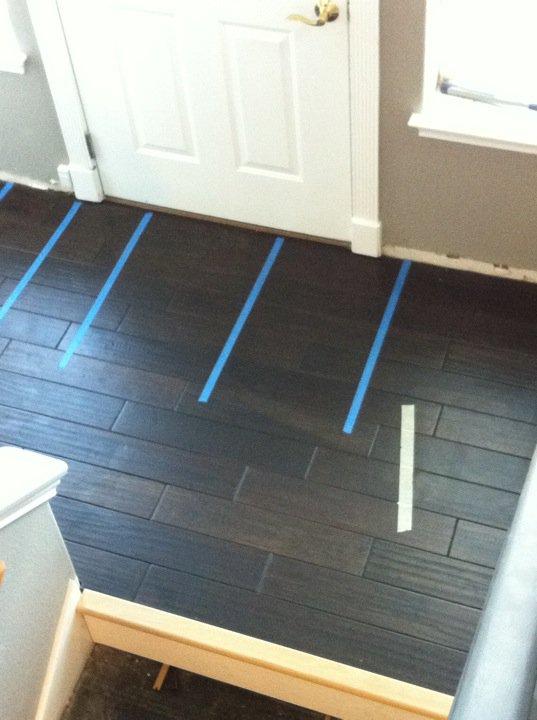 Step 1: New floors