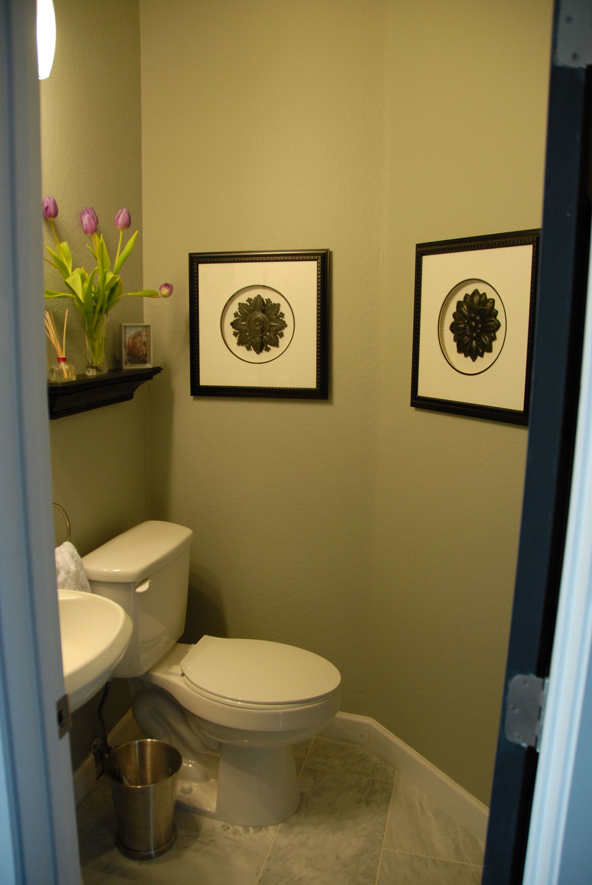 After - Our beautiful little bathroom