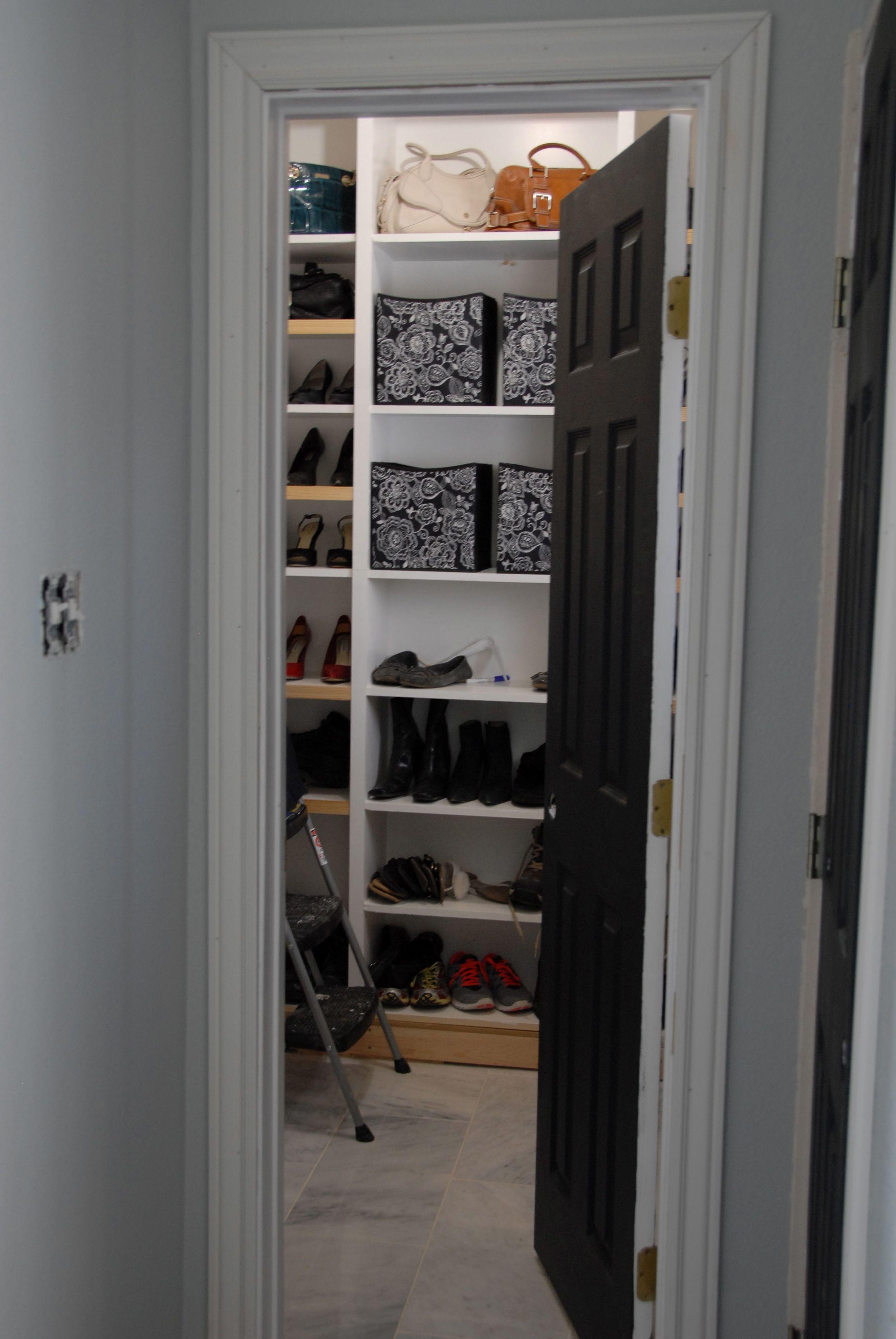 A Peek Inside My Newest Project - Custom Closet