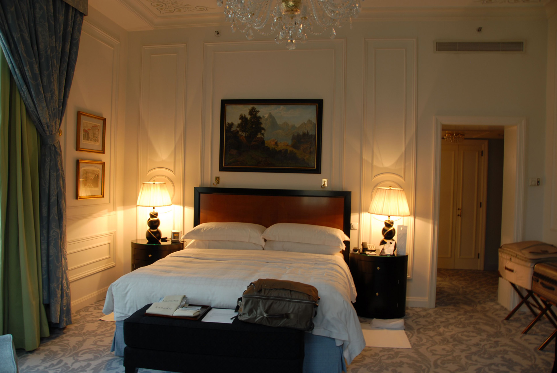 Our room at the Four Seasons Prague