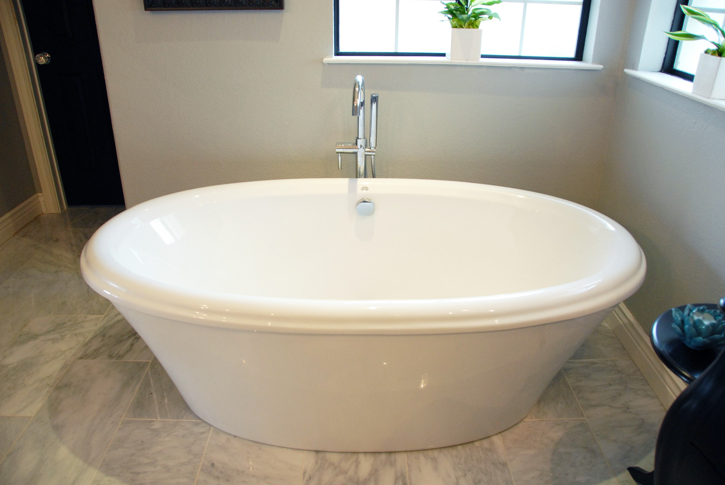 The new tub