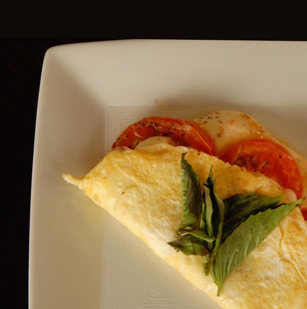 Margherita omelete