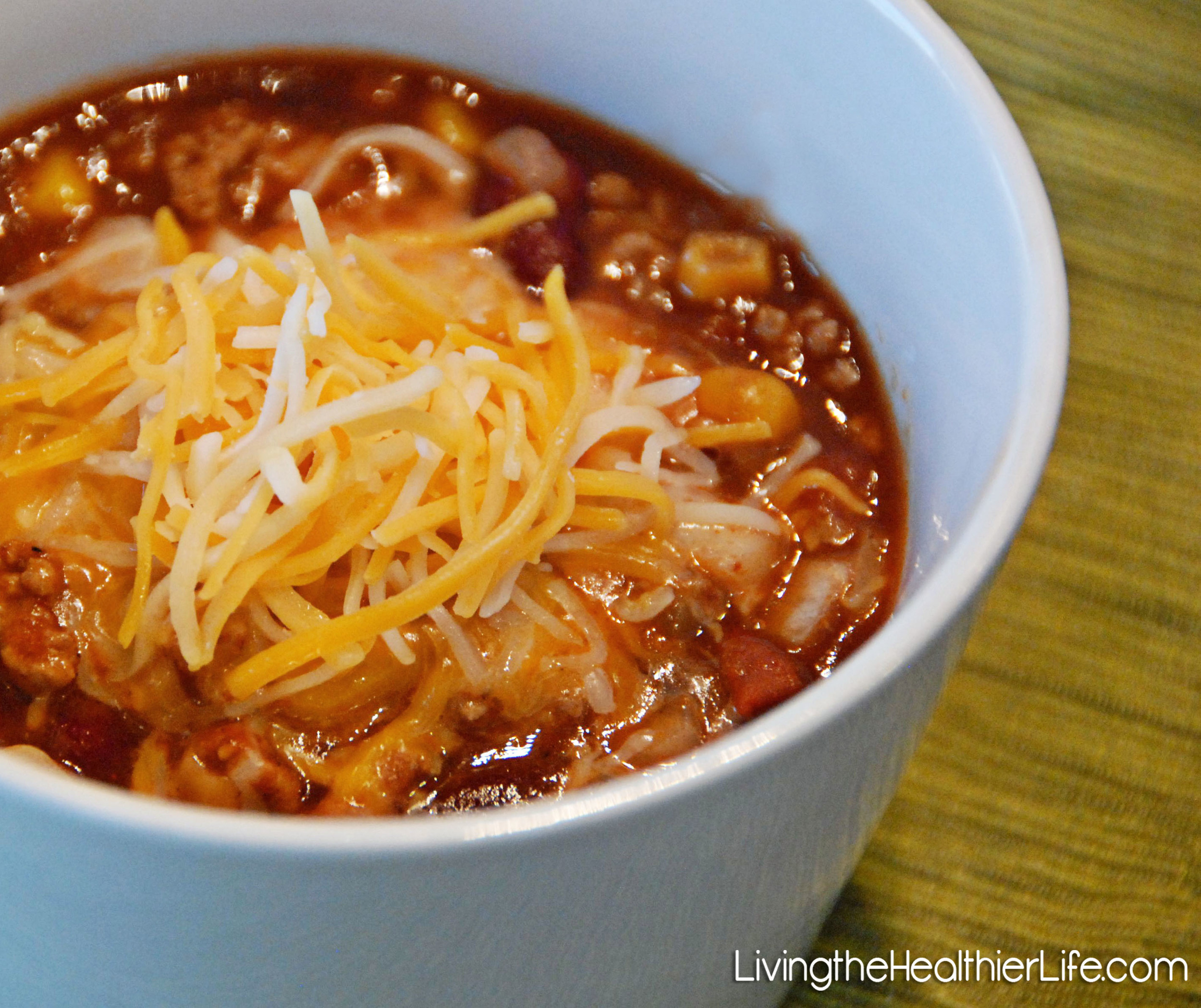 southwest crock pot chili