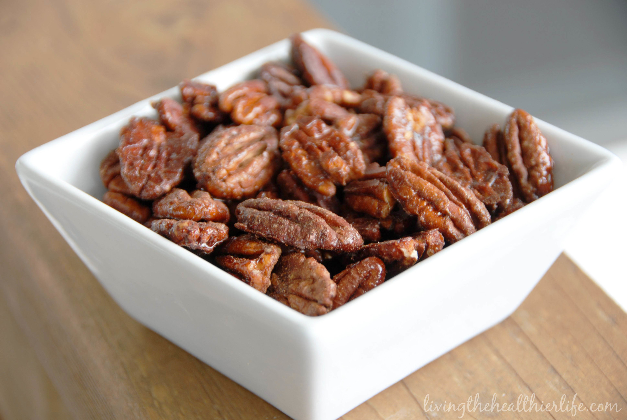 m  aple spice roasted pecans