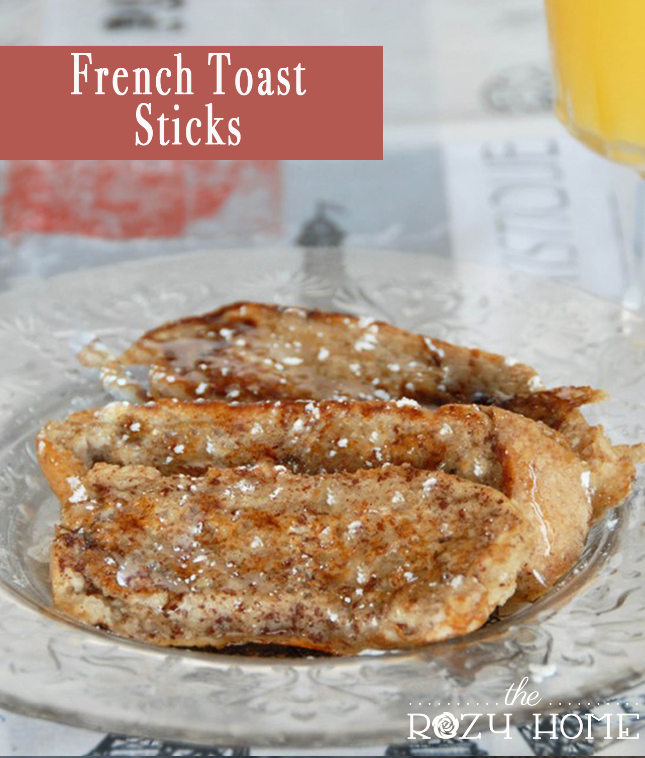 Healthy French Toast Sticks