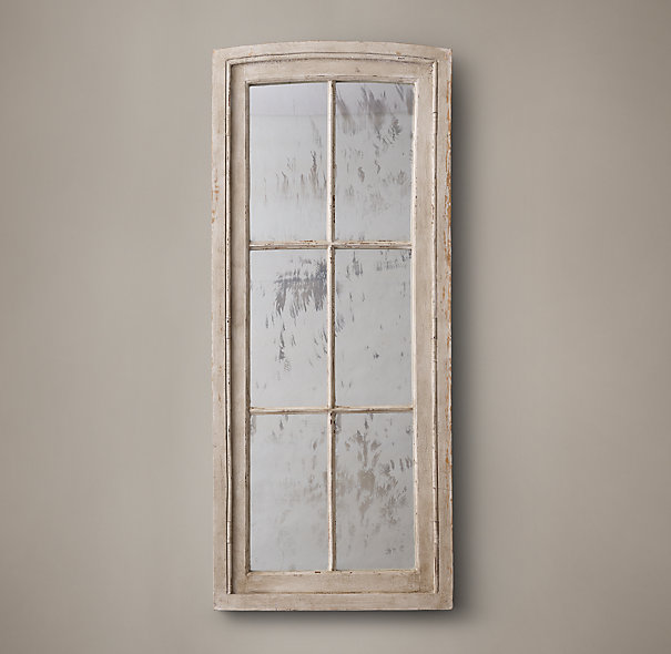 French Window Mirror courtesy of  Restoration Hardware .
