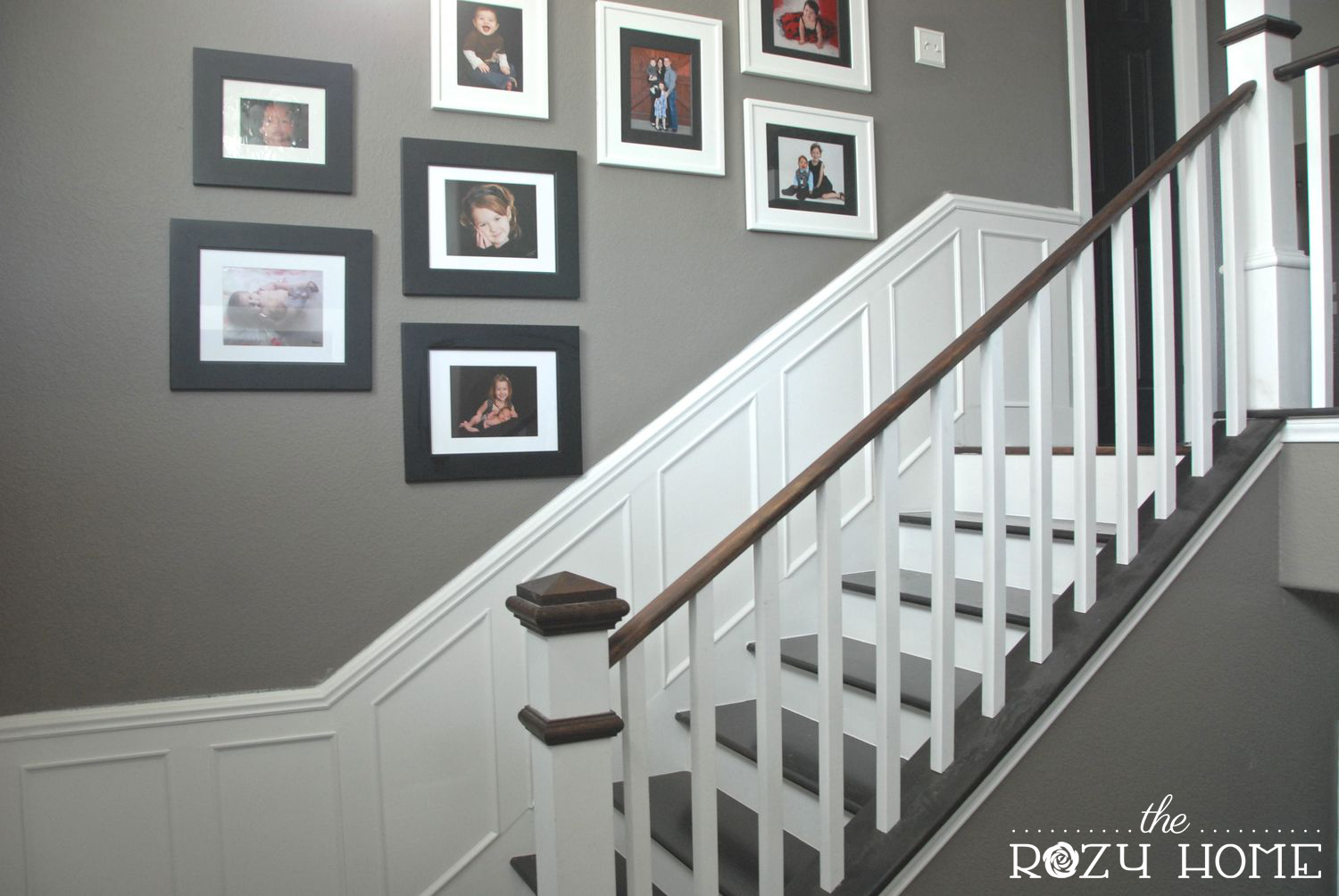 After: With picture frame moulding