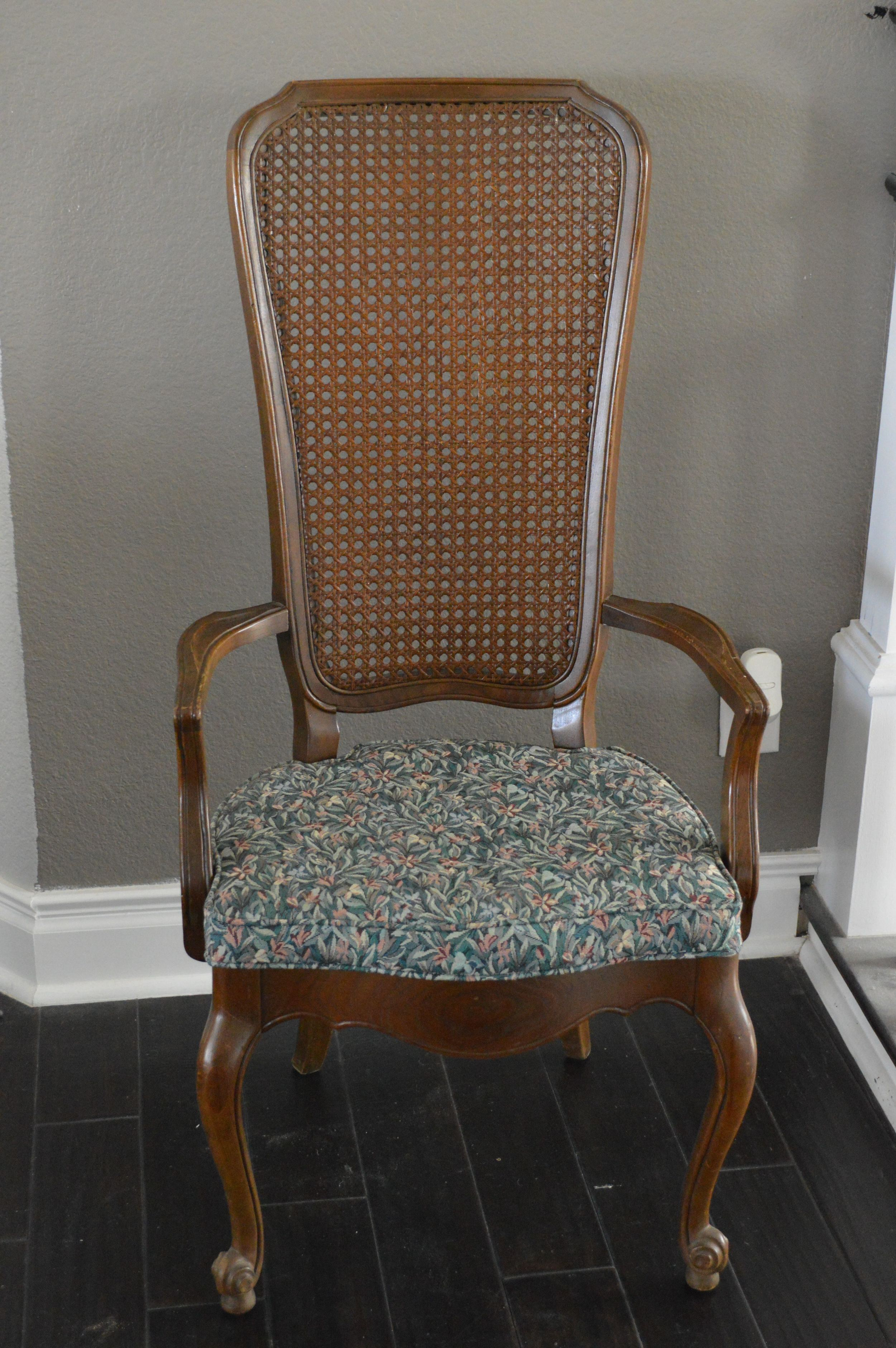The Dining Room Update Cane Chair Redo The Rozy Home