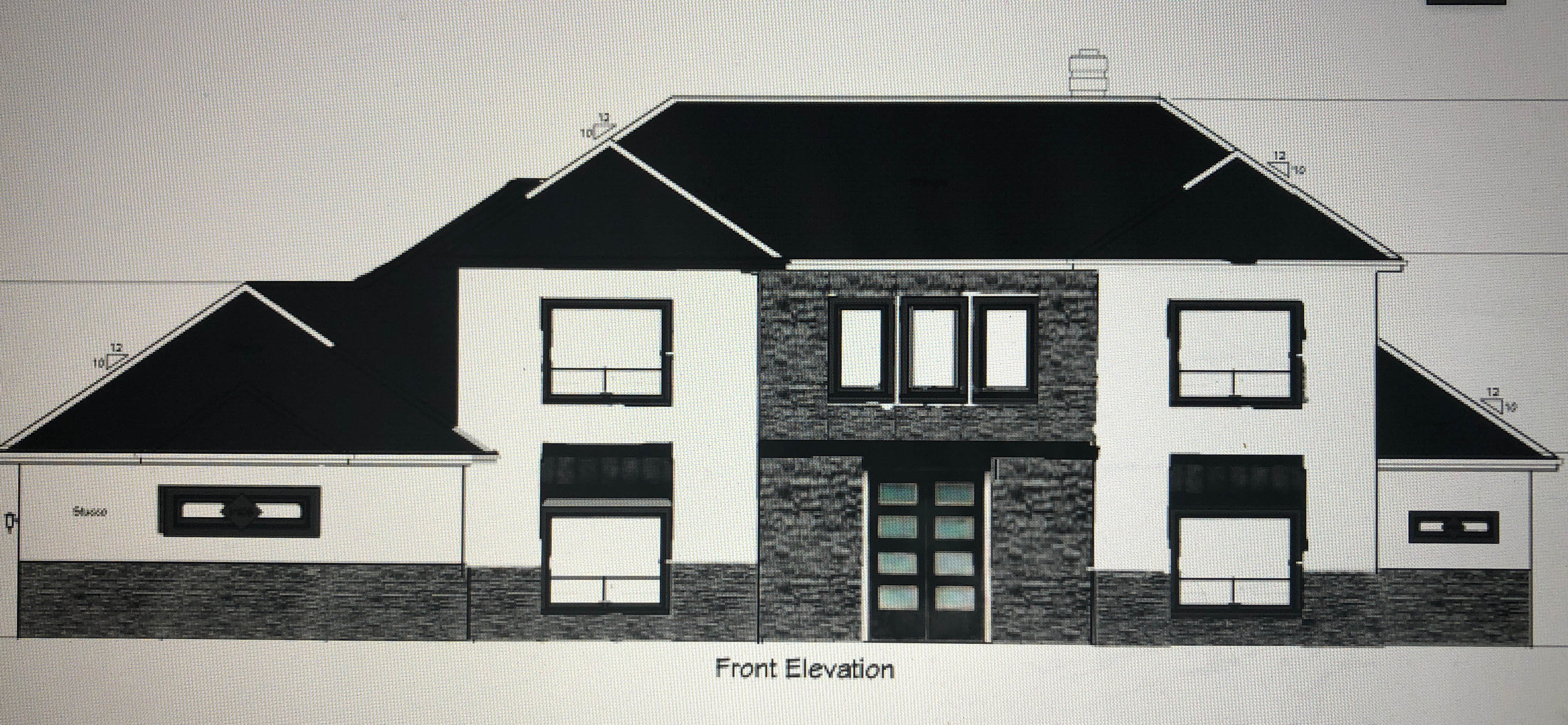 Elevation for our dream home.
