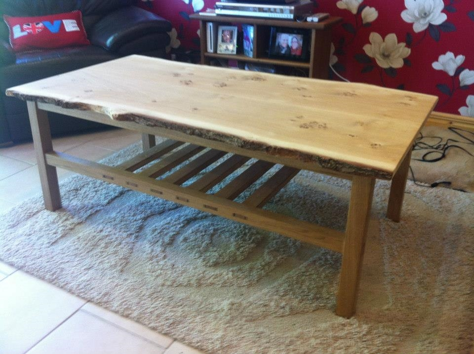 Coffe Table made on York Art & Crafts Woodwork & Furniture Making Course