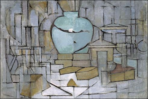 Piet Mondriaan: Stilleven met gemberpot II, 1912