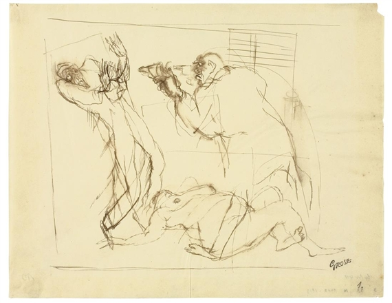 Mord - (1912 - 1913) George Grosz