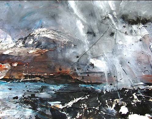 'A Snow Shower' - David Tress