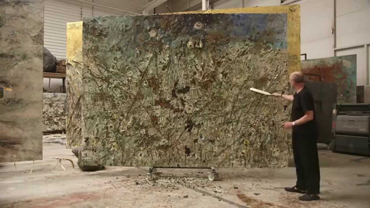 Anselm Keifer. at work