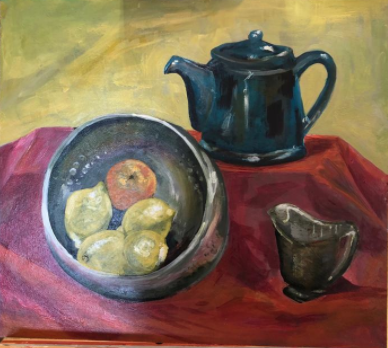 Painting by Ali Watson