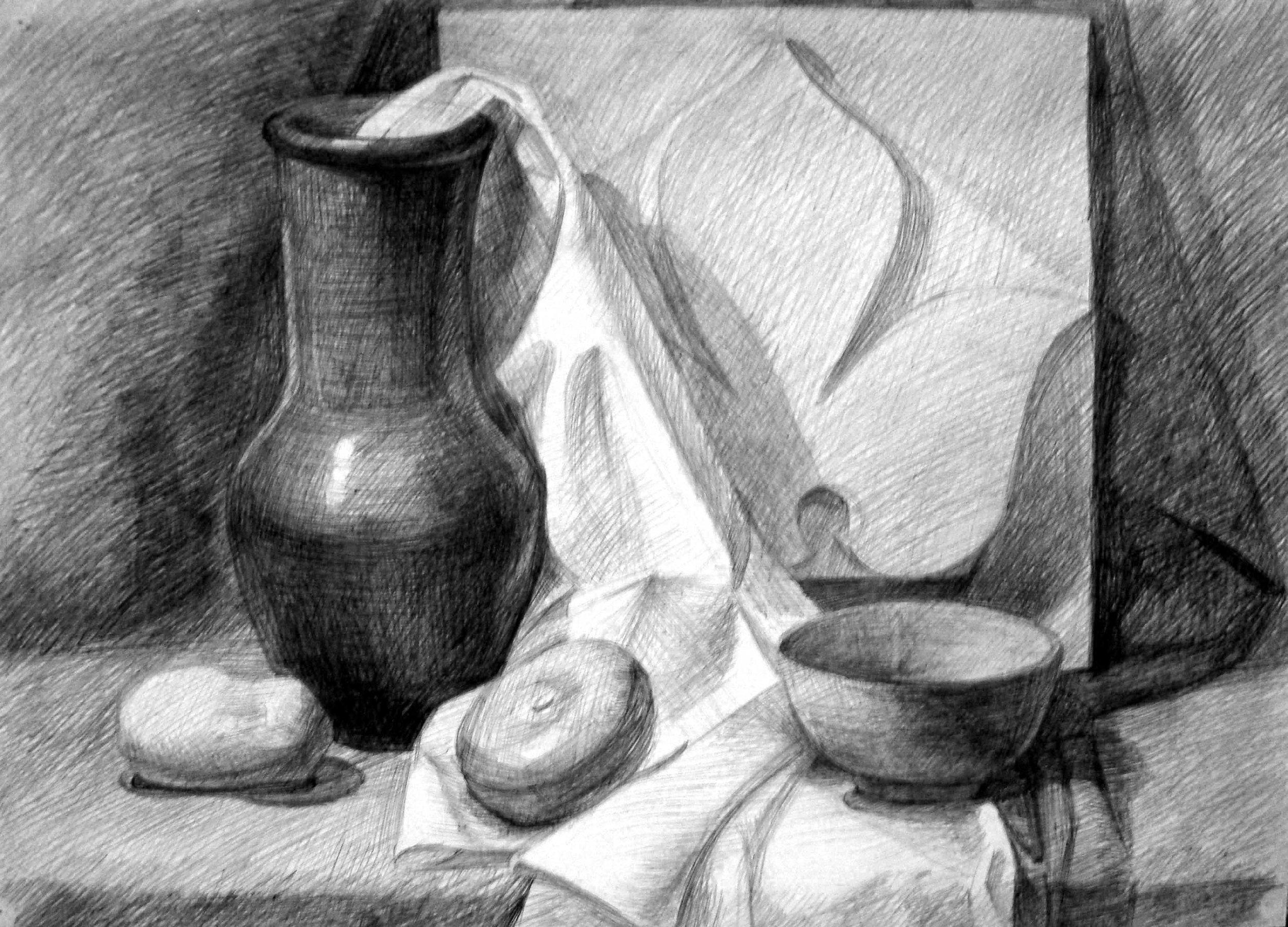 Drawing by Julia Borodina