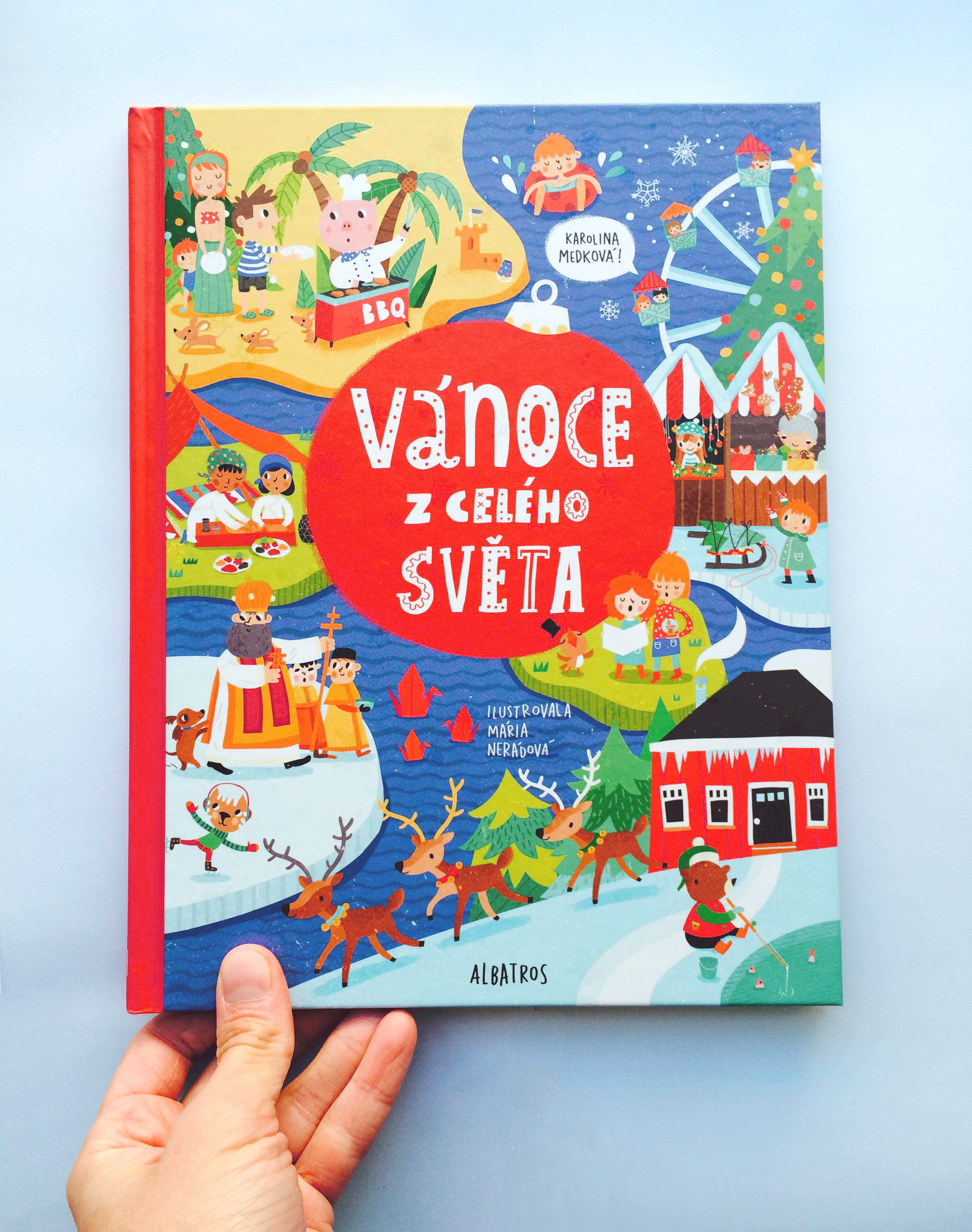 A Christmas activity book I did for Albatros, Czech republic.