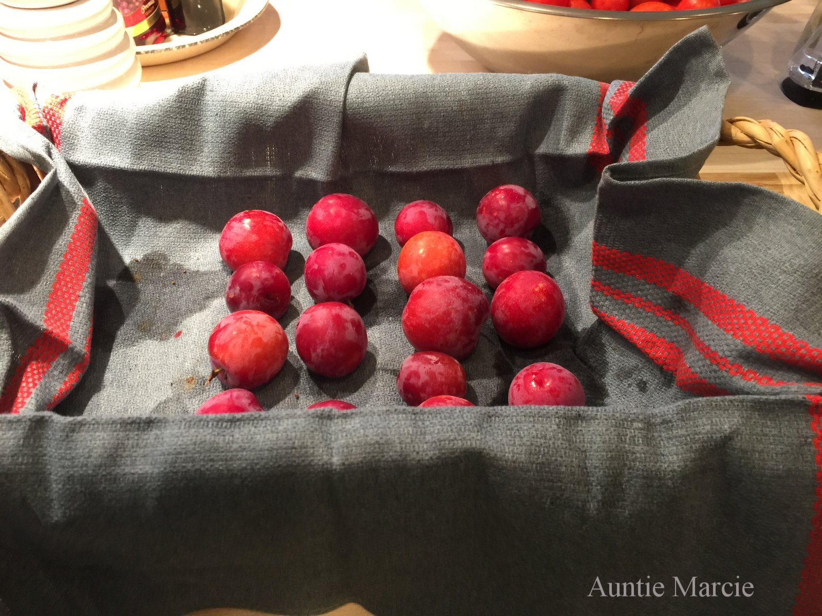 Sour Plum Jam (with pits left in) — Auntie Marcie