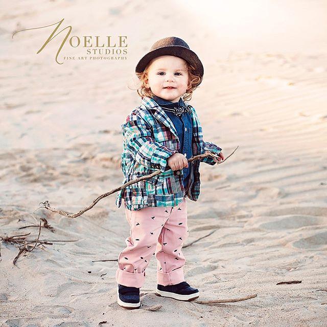 My little monkey man sporting his natural fabulousness lol #noellestudios #myobx