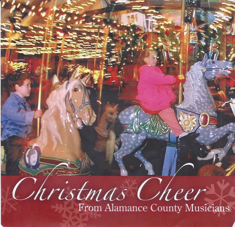 ALAMANCE ARTS COUNCIL fundraiser contribution Single:  God Rest Ye Merry Gentlemen