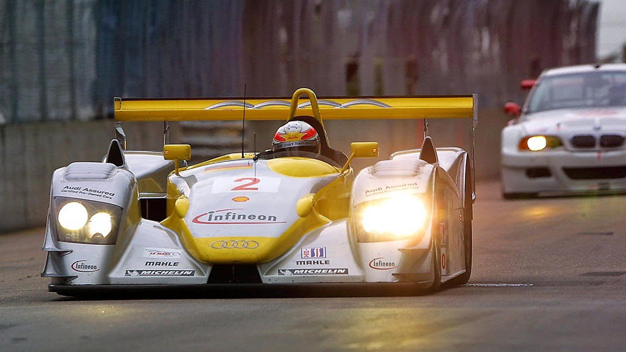 Le Grand Prix de Trois-Rivières, August 3rd 2002 - American Le Mans Series - Audi R8