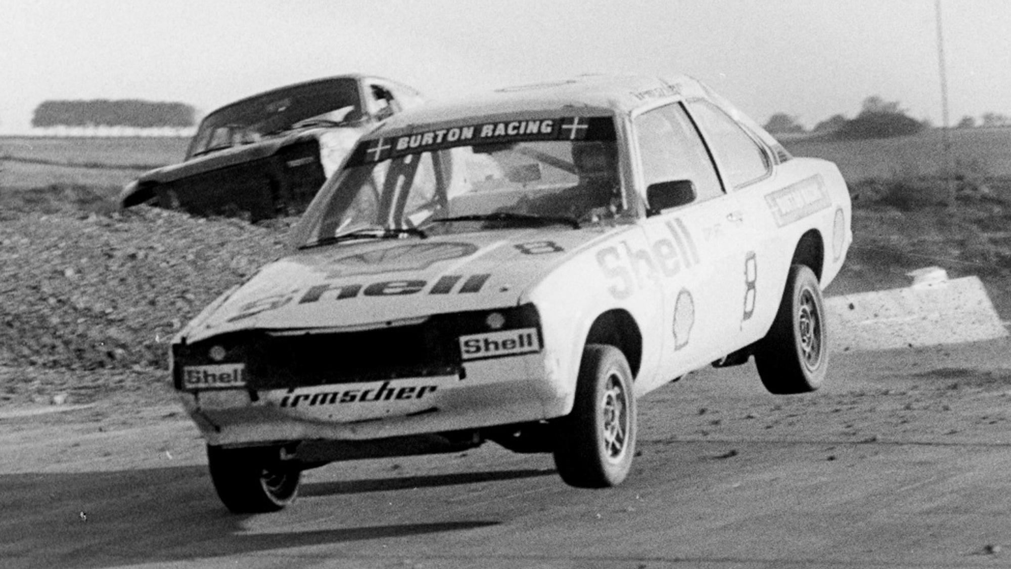 Carl-Erik Kristensen -1980 Danish National Rallycross Champion -© Kurt Ellegaard