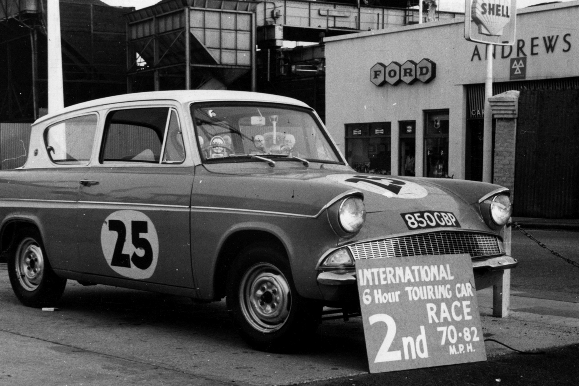 The link with Ford began in 1962 when Alan joined a South Coast Ford dealership, Andrews of Southwick. He soon revitalised the sales side of things and then began an Andrews racing operation.