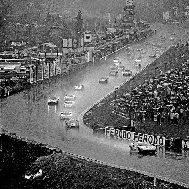 Spa 1000km 1968 - the F3L qualifies 1st but soon retires with (very) wet electrics #spa #classiccars #alanmann
