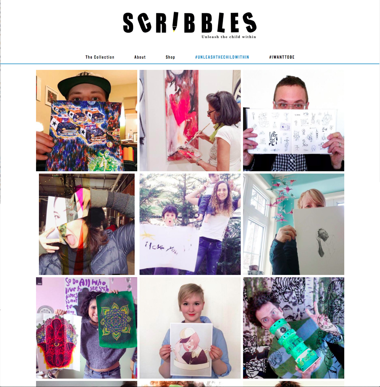 Scribbles- Feature