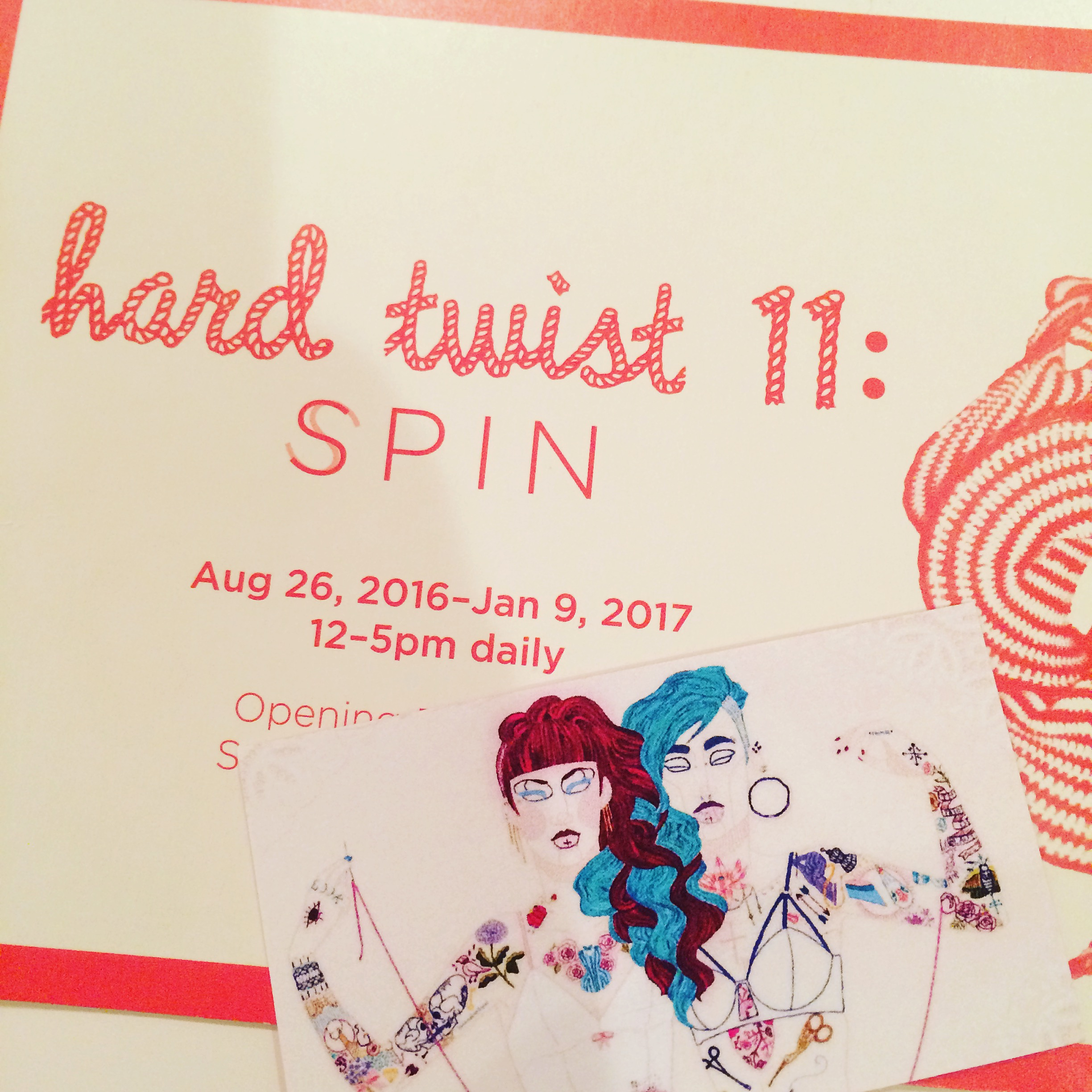 Exhibit Cards- Hard Twist, Gladstone Hotel, 2016.