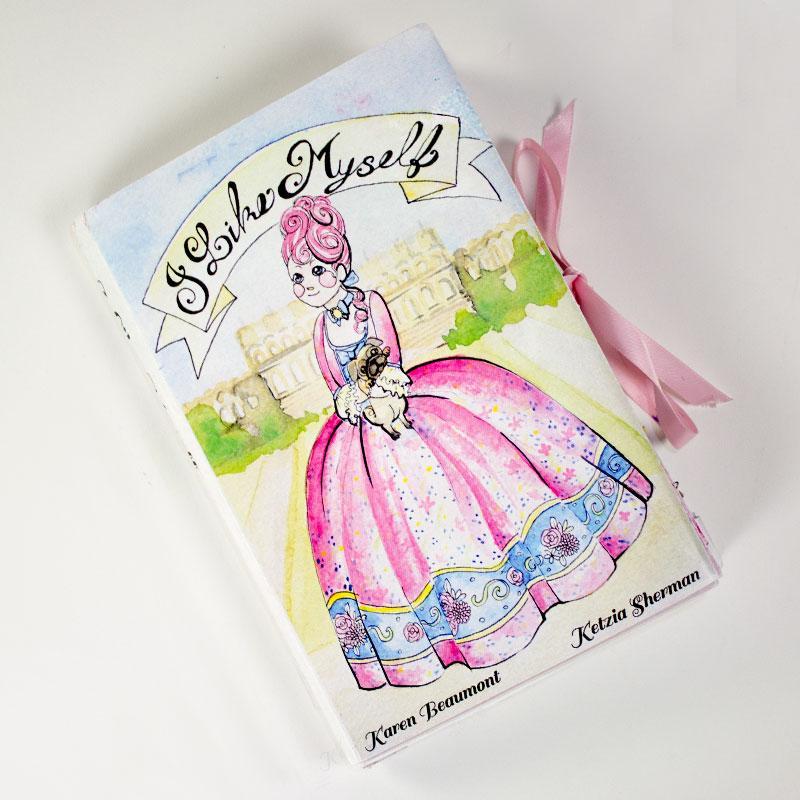 I Like Myself. Pop Up Book, Watercolour. 2013.
