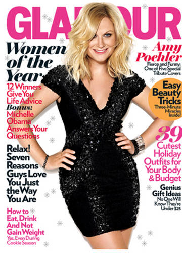 Women of The Year. Amy Poehler: The Entertainer  Glamour 2009