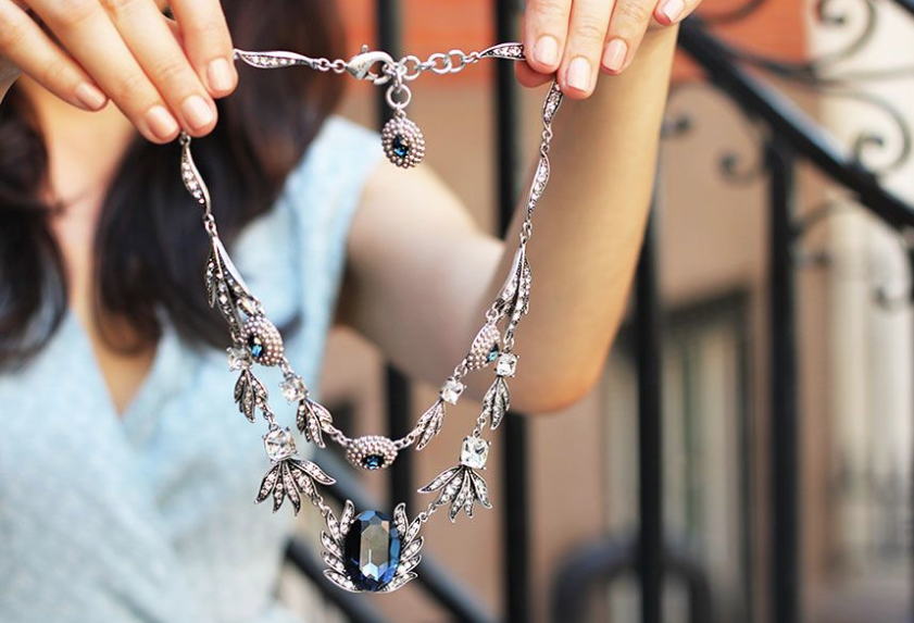 """""""The Kezia Necklace"""" designed by  Lulu Frost"""