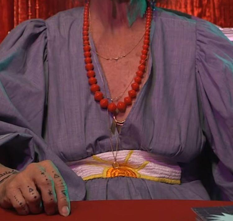 🔮LA psychic wearing #desertsunbrand 🔮Check out @moonkittyyy 's #sundance Next Fest 2016 trailer now!