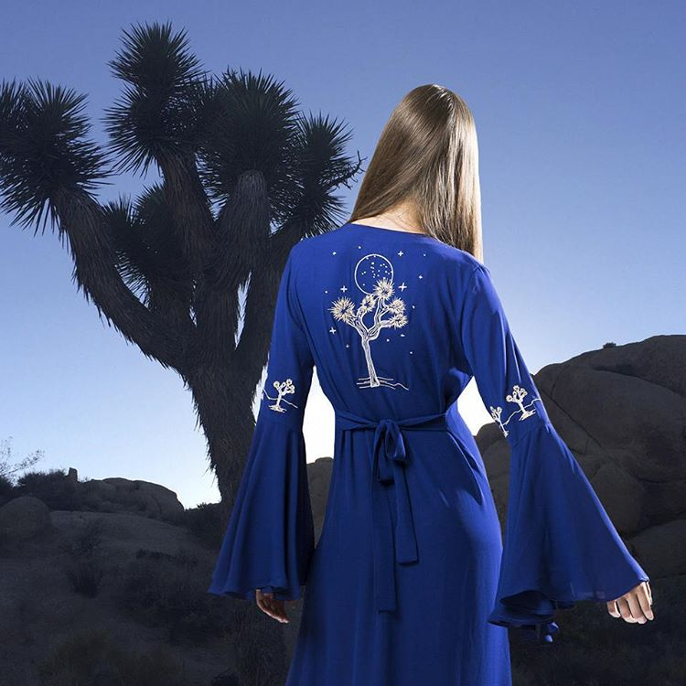 New lookbook coming soon! #desertsunbrand #joshuatree #embroidery