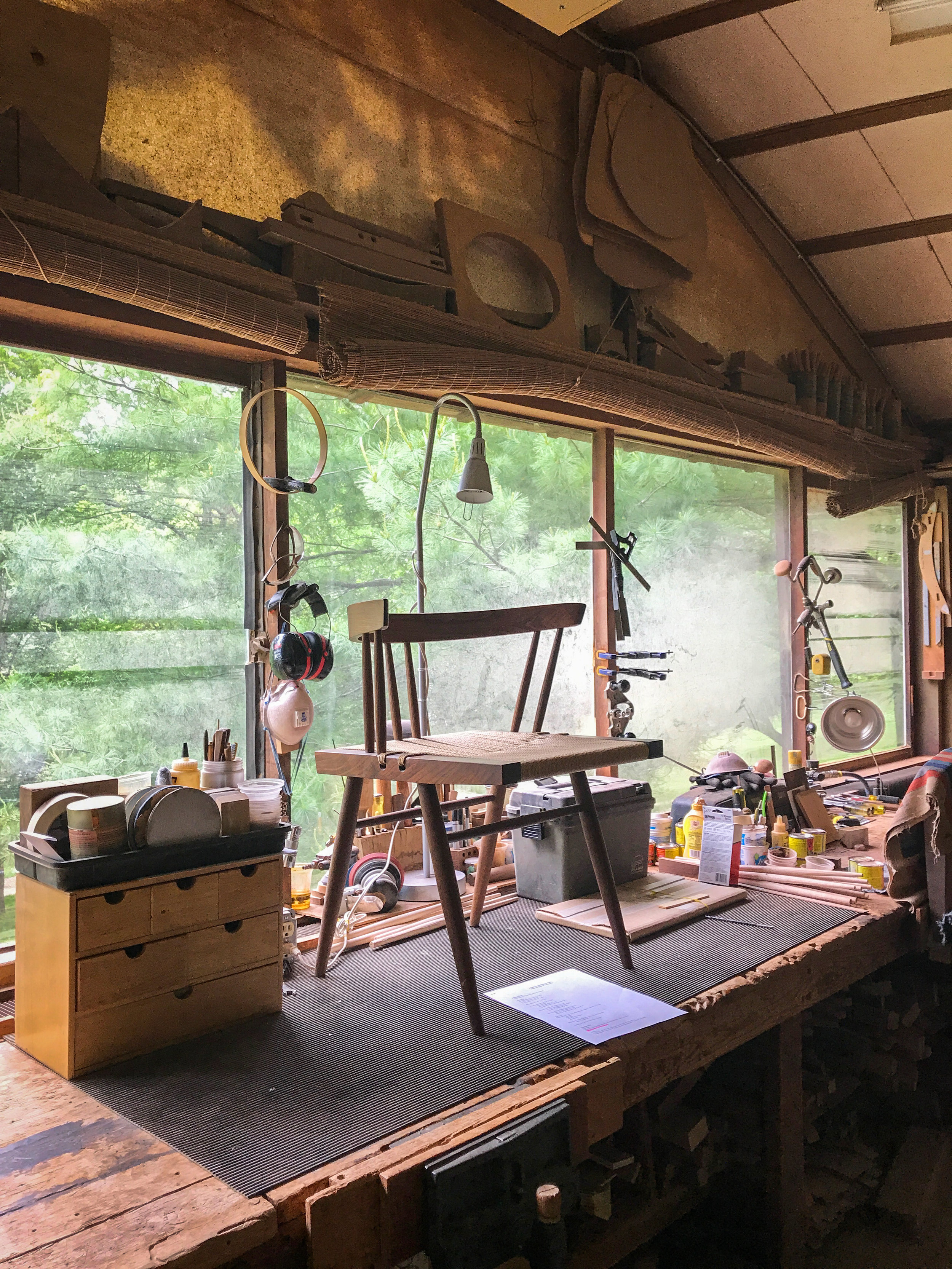 A peek into the Chair Shop