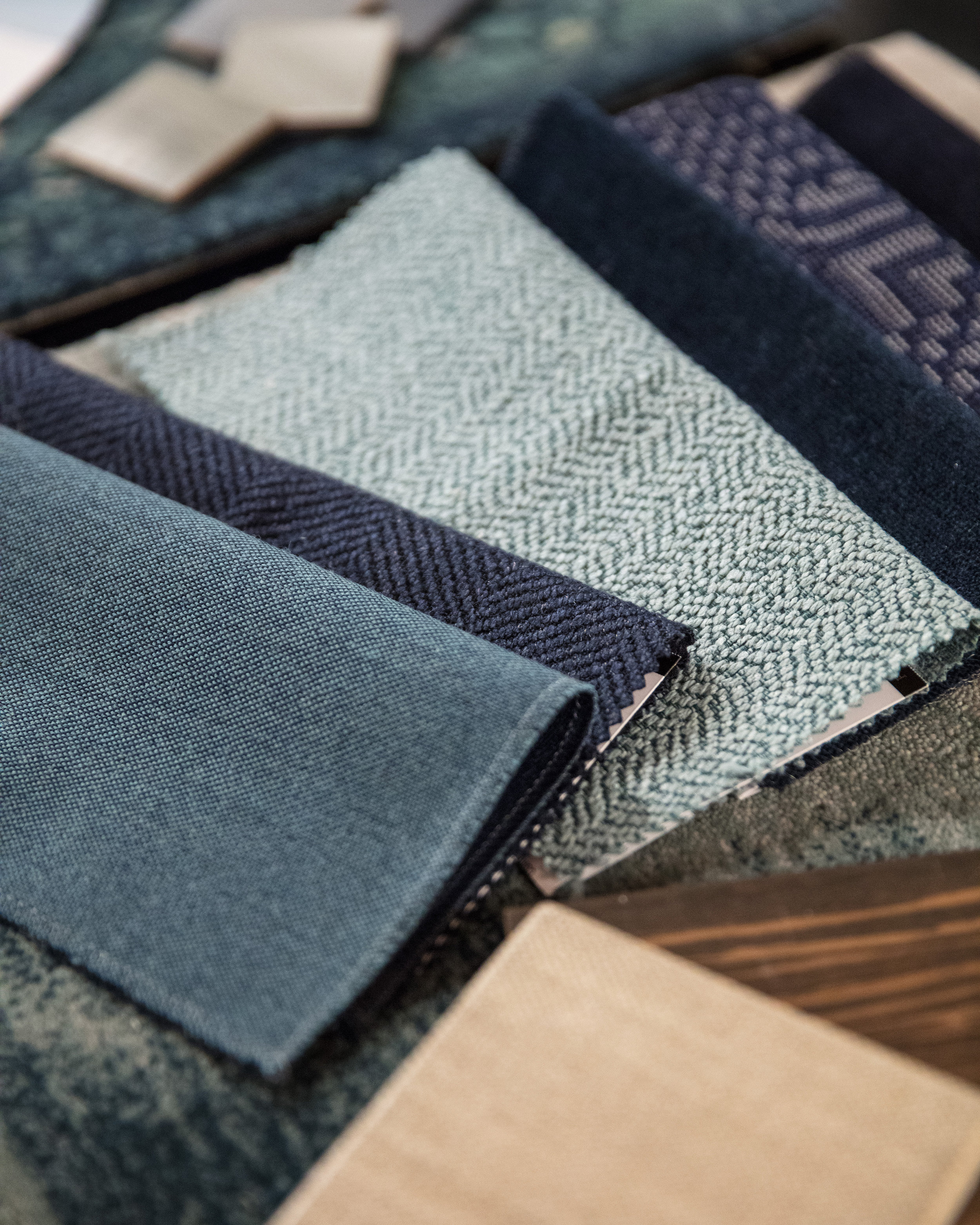Form + Field Interior Design Fabric Samples