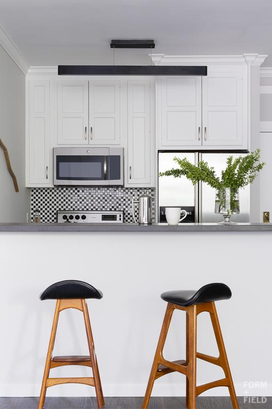 Pacific Heights Vintage Modern Kitchen