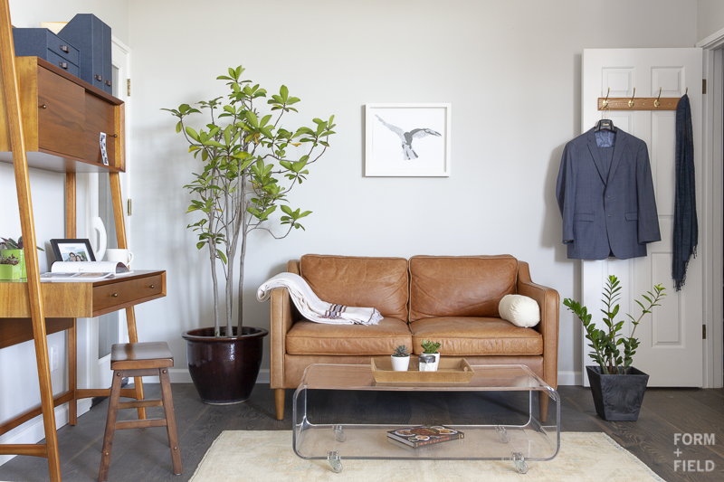 AFTER: Master bedroom lounge area